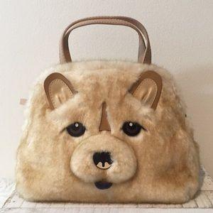 Kate spade chow dog Small Lottie Satchel bag